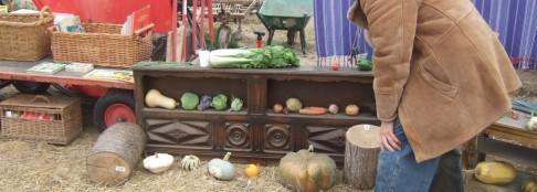 Son côté plus végétal (merci aux Jardins du Clérigo pour les légumes)