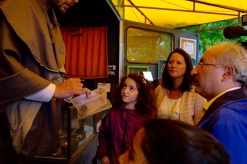 Visite de Johanna Rolland, Maire de Nantes, à l'occasion du forum des sciences organisé par Séquoïa