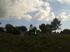 Parc bordant le Golfe du Morbihan, école Vert Marine, Le Hézo (56), merci à Sandrine et à toute l'école !