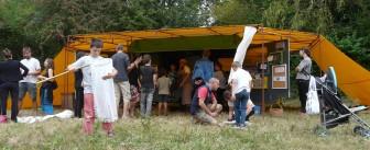 Une prairie, ferme de Riglanne (anniversaire des 10 ans), Campbon (44), merci à Christian et toute l'équipe des fromagers nantais !